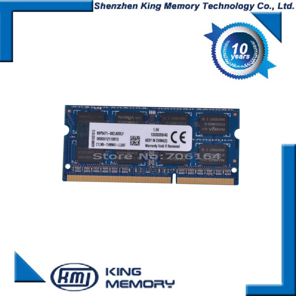 1 35V Voltage DDR3L 1600 PC3 12800 DDR3 1600MHz PC3 12800 Non ECC 4GB SO DIMM