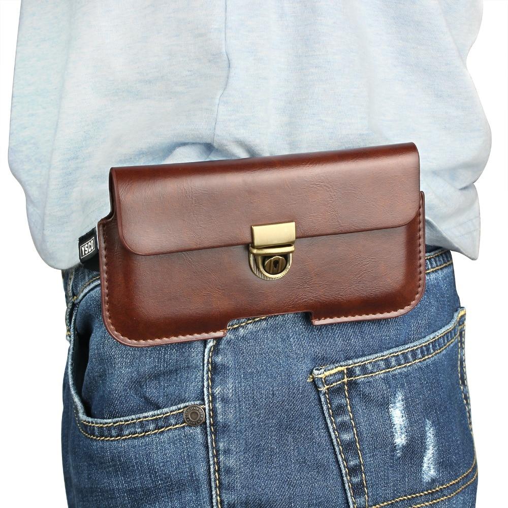 """Schlanke Outdoor-Sport Leder Taille Gürtel Tasche Handyhülle Abdeckung Tasche Holster Für Apple iPhone 6S Plus 7plus 8 Plus X 5,5 Zoll 5,8 """""""