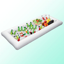Inflatable Food Tray Cooling Salad Food Beer Ice Cooler Lightweight Durable