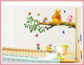 1pcs kids wall stickers The bear on the tree wall stickers waterproof wall decorations tree decals hot selling