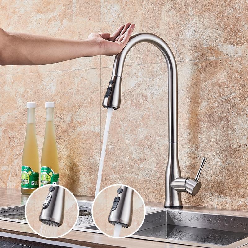sensitive kitchen faucet