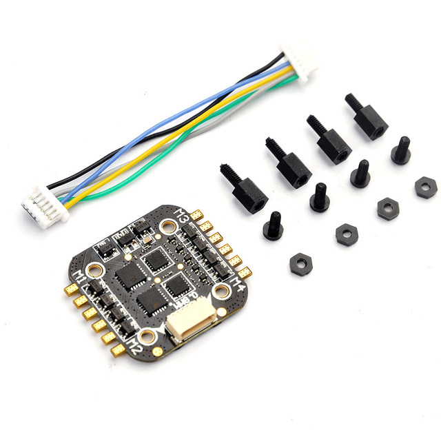 Super_s BS06D 4 In 1 6A BLHeli_S ESC Support DSHOT 2S LiPo for RC Drone Quadcopter