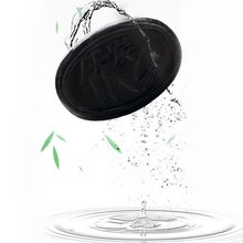 70g Black Bamboo Charcoal Soap Whitening Handmade Soaps Bathing Soap Oil Control sulwhasoo 70g