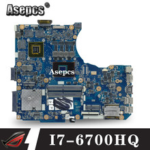 Asepcs N551VW placa base GTX960M I7-6700HQ para ASUS G551V FX551V G551VW FX51VW placa base de computadora portátil N551VW placa base(China)