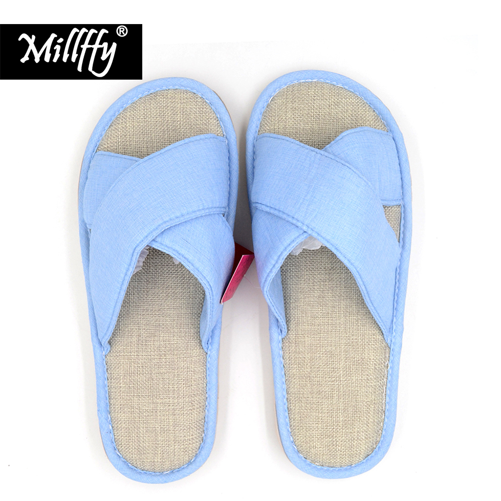 Millffy Japanese summer women's slippers home slippers spring and summer sandals breathable rubber slippers millffy japanese summer ladies flats cotton bow home slippers indoor slippers