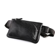 Hot Selling Unisex waist bag packs belt men 2019 Casual Zipper PU Leather fanny Waist Pack Bags for  Running Jogging Belt