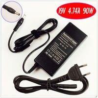 Para asus g g1 g1s g2 g2s s1 s5 s8 z3 z6 Z7 Z8 Z9 Z99 Laptop Carregador de Bateria/Adaptador Ac 19 V 4.74A 90 W