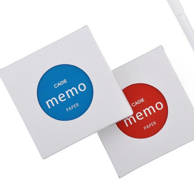 Carino Messaggio Nota Memo Pad Creativo Biglietto Da Visita Carta Riciclata A7 Avviso Postato Quotidiana Personale