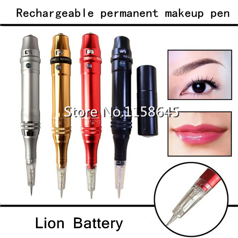 Top Quality Professinal Rechargeable Permanent Makeup Pen For Eyebrow Lip Face Digital PMU + Lion Battery + Power Supply +Needle 1pcs new ez s8c f ez t8c f hy dgt07017 pmu pmu 330b pmu 330bte tg05700a pmu 330bte tg05700a f 1 2 touchpad