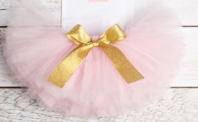 1 Year Baby Girl Dress Princess Girls Tutu Dress Toddler Kids Clothes Baby Baptism 1st First Birthday Outfits infantil vestido 8