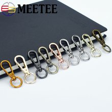 4/10pc 13mm Meetee Metal Buckles Lobster Clasp Swivel Trigger Clips Snap Hooks for Bags DIY Bags Strap Leather Craft Accessories цена