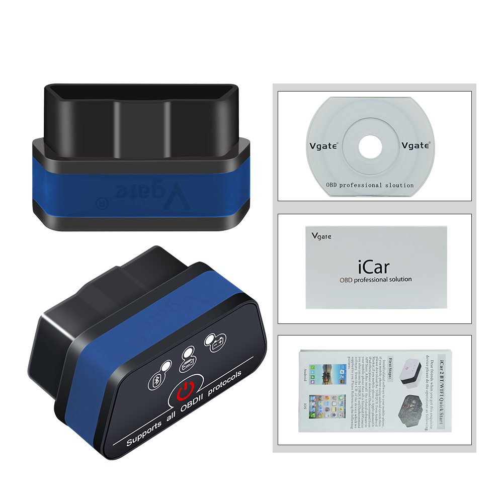 HTB1YEPqbBOD3KVjSZFFq6An9pXac Vgate iCar 2 ELM327 Wifi/Bluetooth OBD2 Diagnostic Tool for IOS iPhone/Android Icar2 Bluetooth wifi ELM 327 OBDII Code Reader