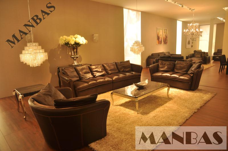 2015 High Quality Leather Sofa Living Room Furniture Set