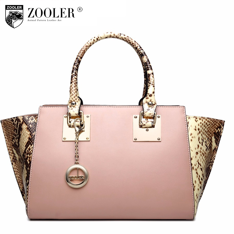 ZOOLER 2017 New Genuine Leather Handbag Fashion Crocodile Pattern Wings Messenger Bags for Women Casual Shoulder Bag Sac A Main zooler brand genuine leather shoulder bags for women casual messenger bag ladies small cowhide leather crossbody bags sac a main