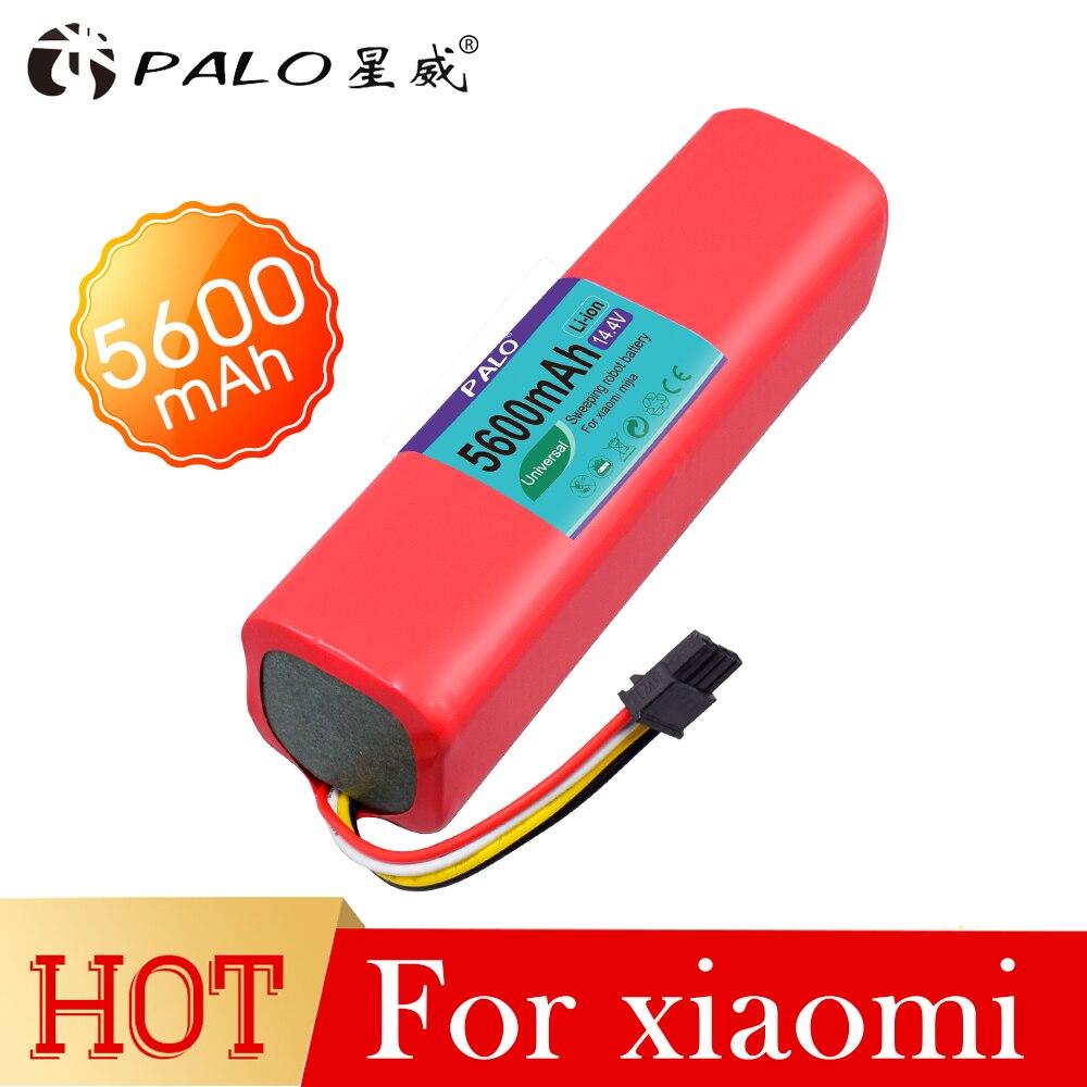 PALO Haute quility 5600 mAh Rechargeable batterie 14.4 V robot aspirateur accessoires pièces pour xiaomi robot roborock S50 S51