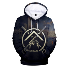 new latest fashion casual 3D shooting game Escape from Tarkov hooded sweatshirt men women printing mens