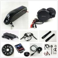 US EU No Tax 48V 1000W BafangBBSHD BBS03 8Fun Mid Drive Motor Kit With Sanyo GA