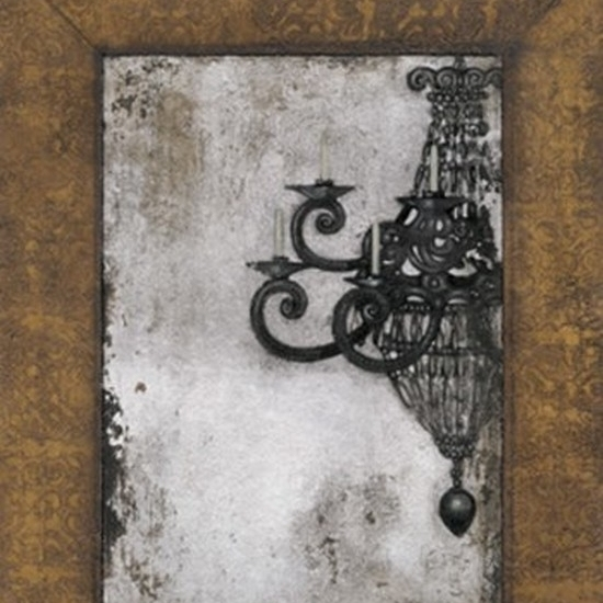 Antique Chandelier II Poster Print by Norman Wyatt Jr. (18 x 24)