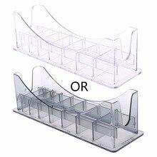 1Pc 8 Grid Basis Box Für Universal Haar Clipper Grenze Kamm Führer Befestigung Größe Barber Ersatz Haar Styling Werkzeug zubehör