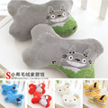 With the jewelry KT large white eggs stuffed Totoro Donald an idle car, car pillow neck pillow,  head pillow one pair