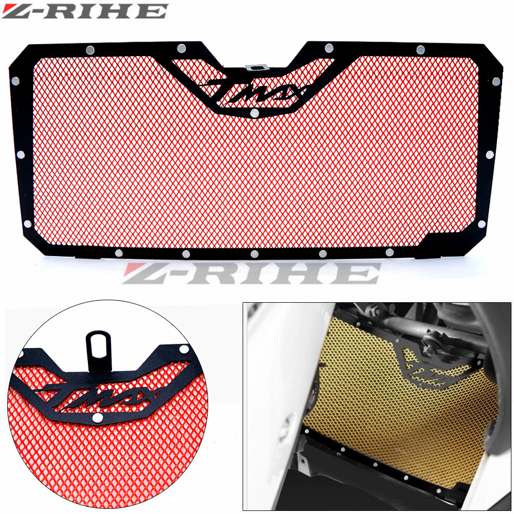 for YAMAHA TMAX530 2012-2016 2015 Motorcycle Radiator Guard Protector Grille Grill Cover Stainless Steel Radiator Grill Cover arashi motorcycle radiator grille protective cover grill guard protector for 2008 2009 2010 2011 honda cbr1000rr cbr 1000 rr