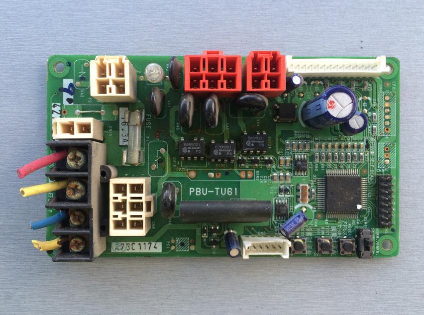 ФОТО  A73C1171 A73C1174 PBU-TU61 Air Conditioning Board Tested