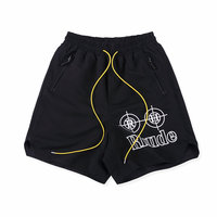 Rhude X Patron Men women short pants kenye west Sight juventus joggers hip hop shorts streetwear boxing Drawstring Casual Shorts