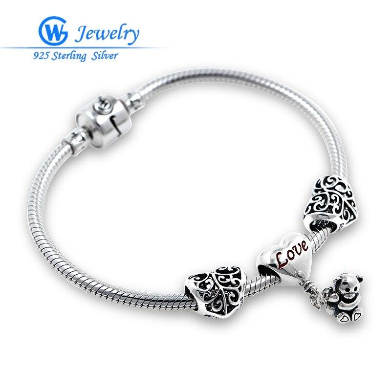 GW marque amour Teddy s'adapte à l'amour et à souhait Bracelet pour les femmes bijoux de mode BRS276