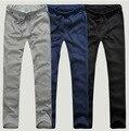 Мужские свободного покроя брюки 2016 весна и осень мужская дешевые штаны 3 цвета м ~ XXL Большой размер свободного покроя прямо тренировочных брюках брюки