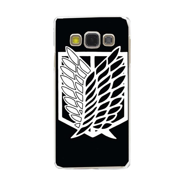 Japanese Attack On Titan Cool Hard Case Cover for Galaxy