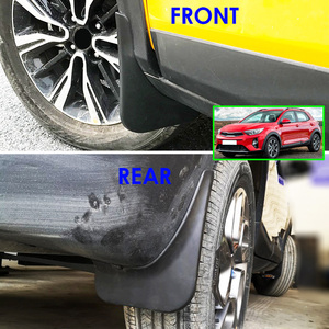 Image 5 - 4Pcs Set Mudflaps For Kia Stonic 2017 2018 2019 Mudguards Mud Flap Flaps Splash Guards Guard Fender Car Accessories