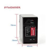 Dtwonder парковки Сенсор автомобильный шлейфовый детектор PD132 для доступа петлевой детектор
