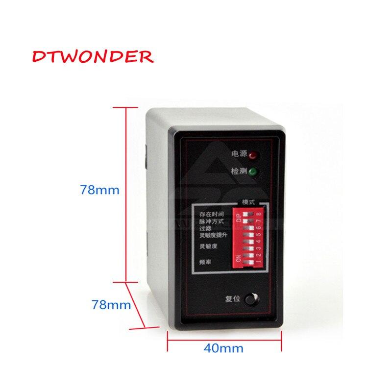 DTWONDER Parking Sensor Vehicle Loop Detector  PD132 For Access Loop Detector
