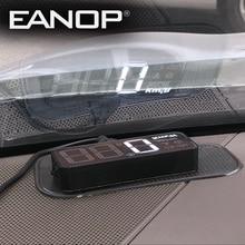 EANOP s-Mini Car hud Obd Head-up Display Speed Projector OBD2 Speedometer Windshield Sensor Estacionamento