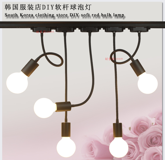 Aliexpress.com : Buy LED hose track shoot E26 E27 lamp long rod ...