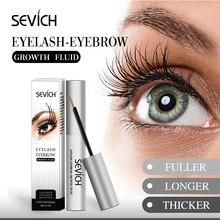 Eyelash Enhancer Serum lash lift 100% Original eyelash & eyebrow Powerful growth treatment liquid Sevich Makeup Brand