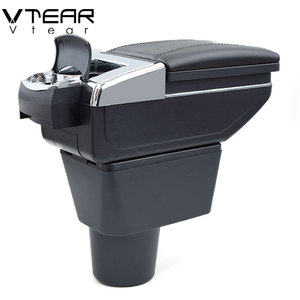 Image 5 - Vtear For renault dacia duster armrest box interior Storage central content box car styling decoration Accessories 2010 2015