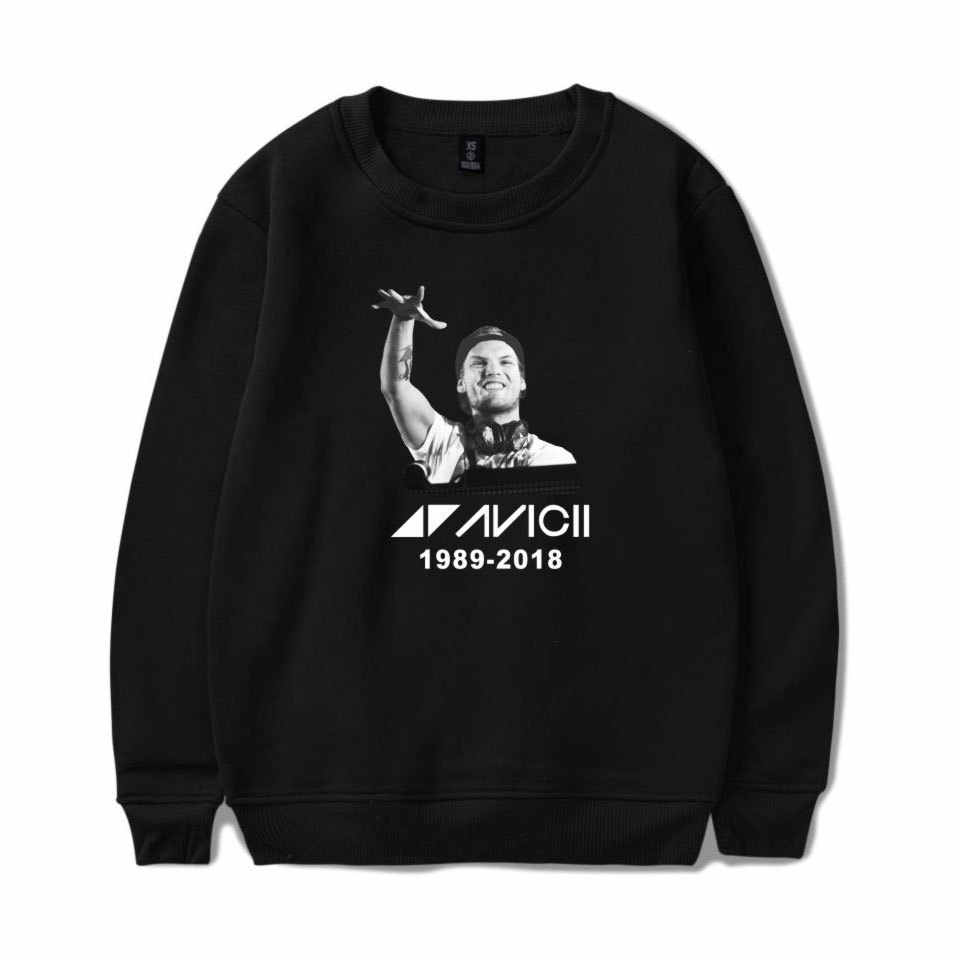 Women/men long sleeve hoodies 2019 fashion causal hoodies clothes Dj avicii hoodie sweatshirts pullovers clothing coat