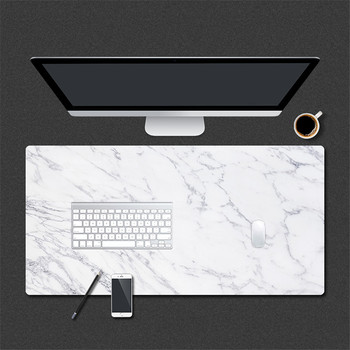 800 * 400mm Marble Grain Gaming Mouse Pad PU Leather Large Mousepad for Home Office Laptop Computer Desk Pad Keyboard Mat Mice contact s family 100% nubuck leather mouse pad solid color keyboard mouse mat office computer desk mat mousepad gaming mice pad