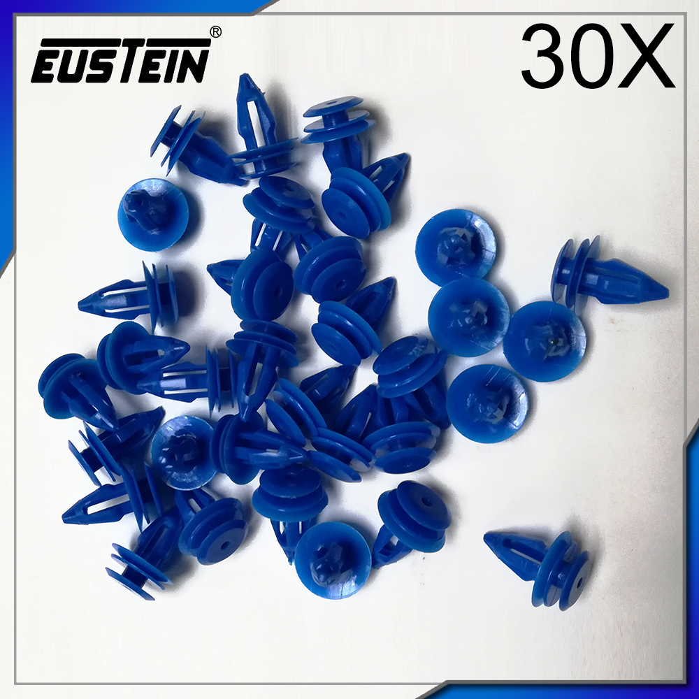 20x Land Rover Range Rover Evoque Plastic Clips for Front /& Rear Wheel Arch Trim