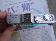 For panasonic LX5 original flash board Shutter button flash flash top article rotary table