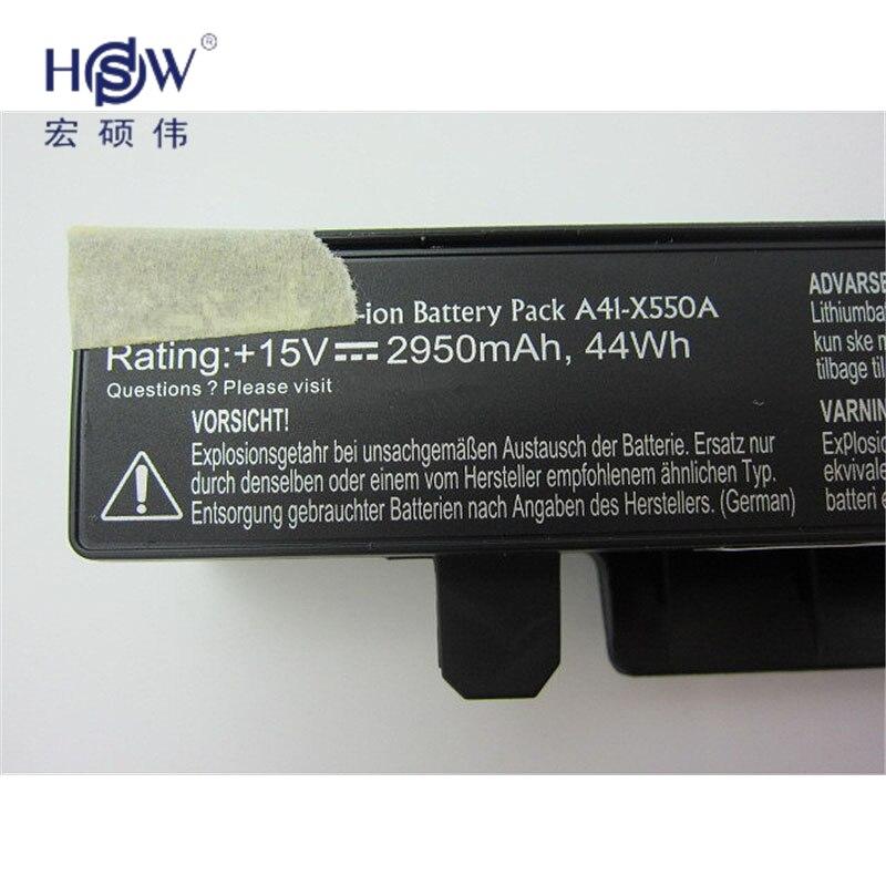 Baterias de Laptop x550c x550b x550v x550d a41-x550a Tipo : Li-ion