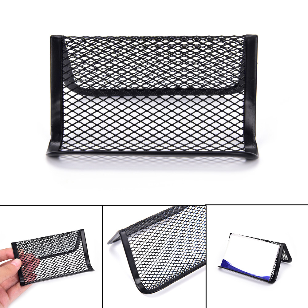 Card Case Display Stand Phone Holder Display Stand Desk Shelf Box Card Holder Office Supplies Business Card Holder