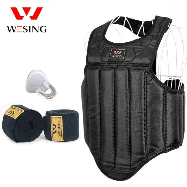 2017 MMA boxing sanshou Chest Guard Pad Muay Thai kickboxing chest Protector Breast Boxing Karate Taekwondo Kickboxing Training