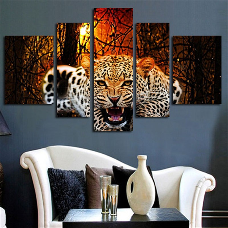 Leopard Bedroom Ideas For Painting