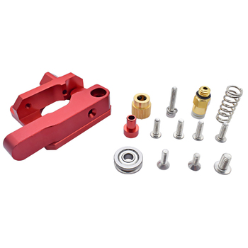 3D printer extrusion compatible with E3DV6 CR10 CR8 extruder full metal aluminum right/left side j-head freee shipping