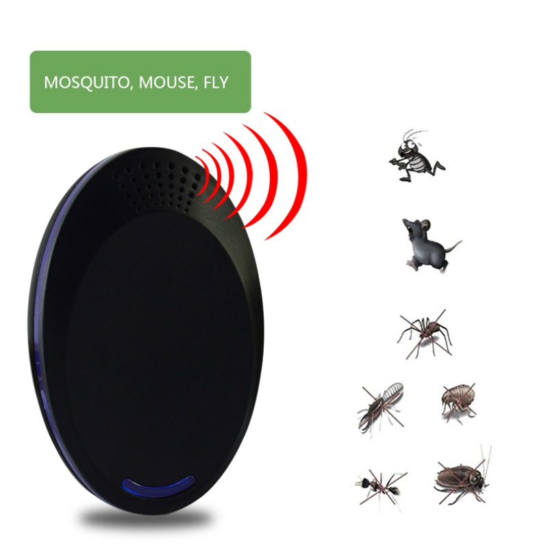 Home & Garden Repellents Ultrasonic Pest Repeller Electronic Insect Flies Mice Control Repellent Mosquito Killer For Home Outdoor Pest Reject Products