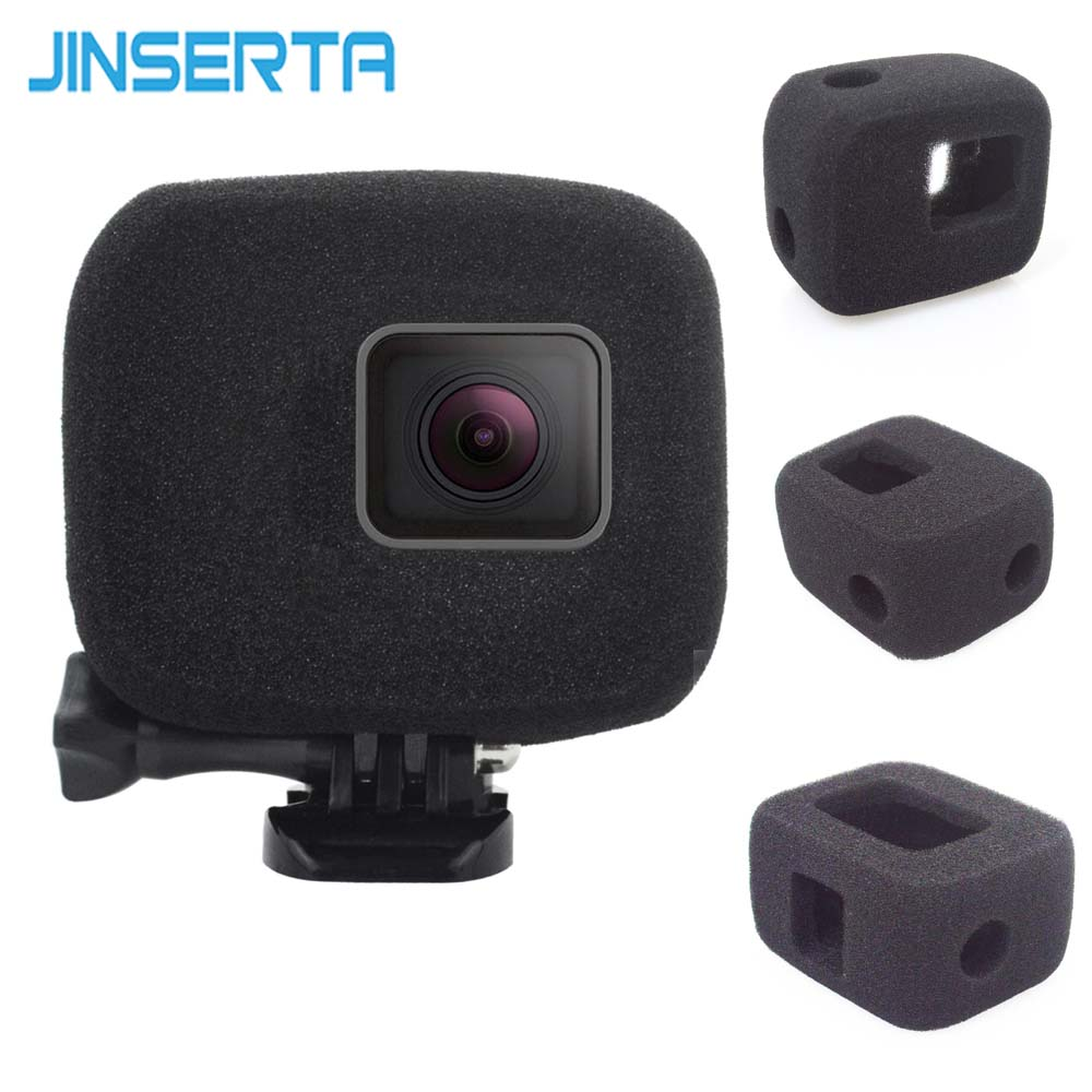 JINSERTA Sponge Windshield for Gopro Hero 7 Wind Slayer (Foam Windscreen) Windshield Cover for Gopro Hero 6 Hero 5 аксессуар gopro hero 7 black aacov 003 сменная линза