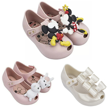 ФОТО children shoes fashionable,mini melissa sandals comfortable