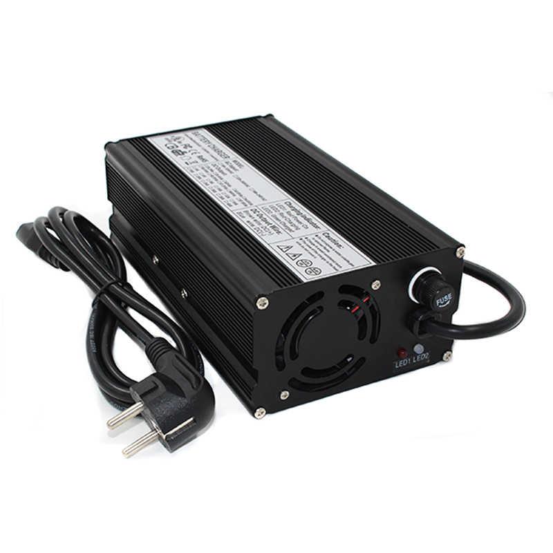 84 V 6A зарядное устройство 72 V литий-ионная батарея интеллектуальное зарядное устройство используется для 20 S 72 V литий-ионная батарея E-bike с вентилятором авто-стоп интеллектуальные инструменты